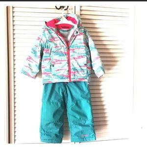 ⛄️ Columbia Girls Size 3T Snow Suit
